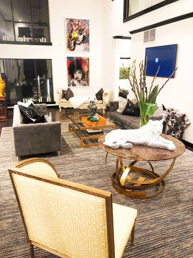 Residence Living Area | Thrown by Covet House